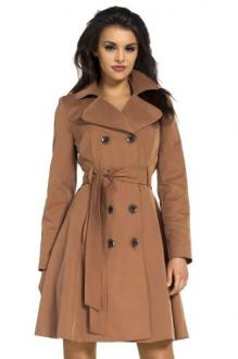 Coat brown-black